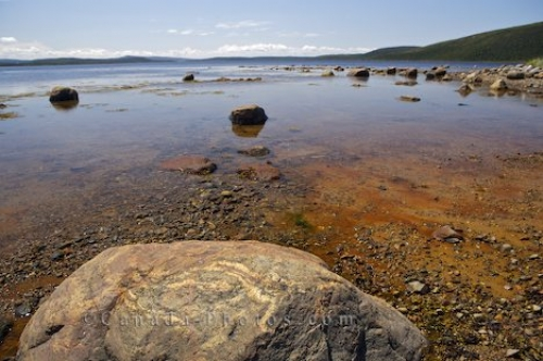 Photo: Rocky Coastline Sandwich Bay Cartwright Southern Labrador