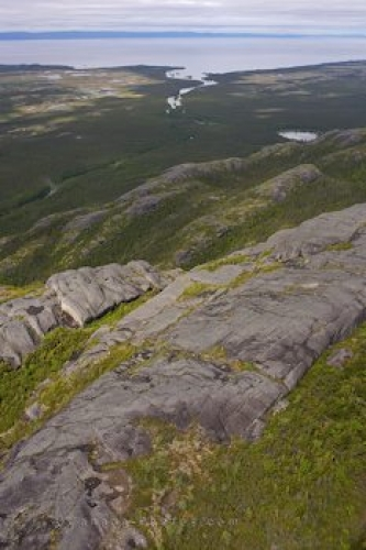 Photo: Rocky Landscape Mealy Mountains Southern Labrador