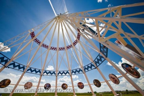 Photo: Landmark Saamis Teepee In Medicine Hat