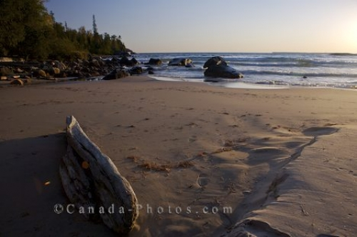 Photo: Sandy Shores Lake Superior Ontario