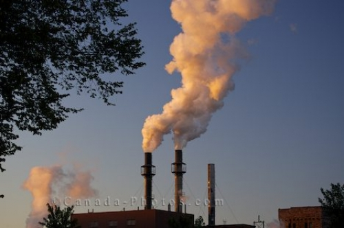 Photo: Sault Ste Marie Pollution Great Lakes Ontario