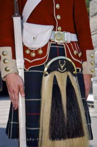 Photo: Photo Scottish Uniform Halifax Citadel Nova Scotia
