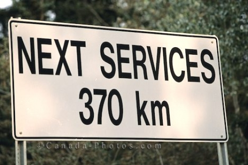 Photo: Service Sign Yukon