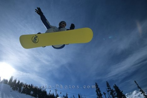 Photo: Snow Boarding Blackcomb Terrain Park