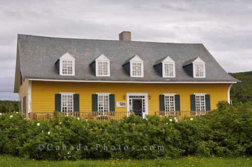 Photo: Socio Cultural Manoir Le Boutillier Historic Site Gaspesie Quebec