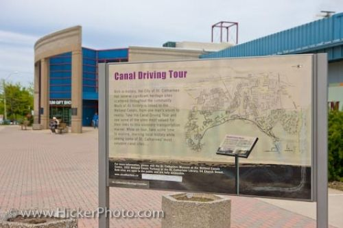 Photo: St Catharines Museum Sign Canal Driving Tour Ontario