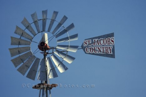 Photo: St Jacobs Windmill Ontario Canada