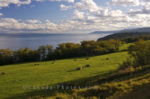 Photo: St Lawrence River Coastline Marine Park Drive Charlevoix Quebec