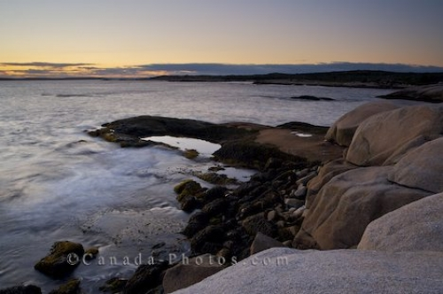 Photo: St Margarets Bay Sunset Nova Scotia Canada