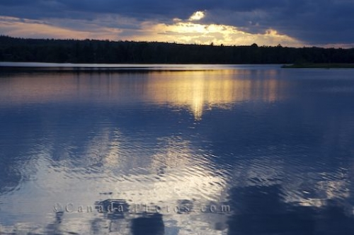 Photo: St Marys River Sunset Sherbrooke Nova Scotia