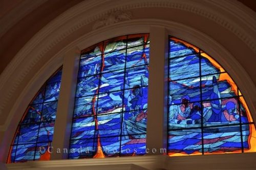 Photo: Stained Glass Window Historic Site Nova Scotia