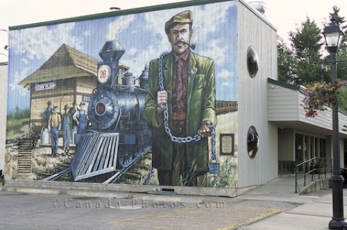 Photo: Stony Plain Mural