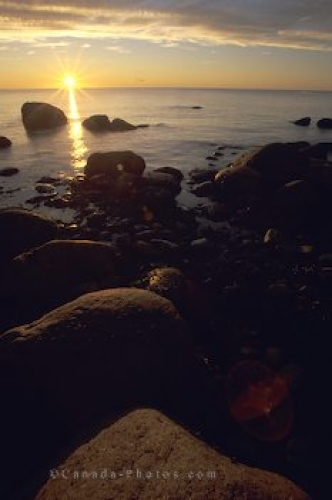 Photo: Sunset Newfoundland Gros Morne