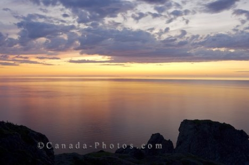 Photo: Sunset Water Reflections Twillingate Newfoundland