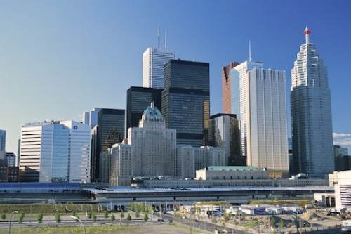 Tall Buildings Downtown Toronto Photo Travel Idea Canada