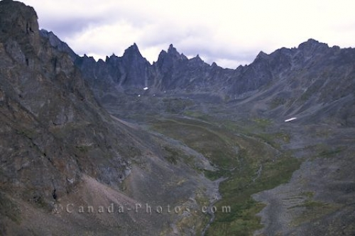 Photo: Tombstone Mountains Yukon