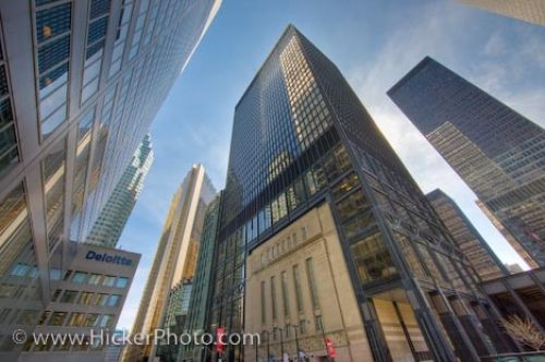 Photo: Skyscraper Toronto Stock Exchange Building