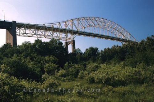 Photo: Train Bridge Sault Ste Marie
