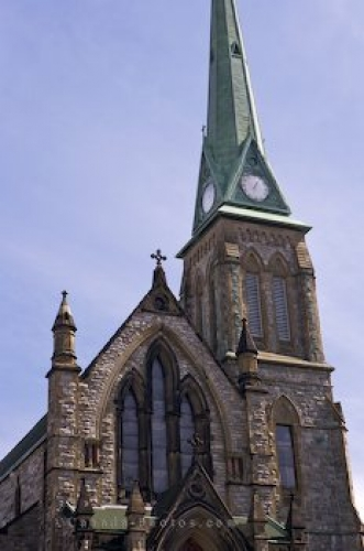 Photo: Trinity Church Facade Saint John New Brunswick