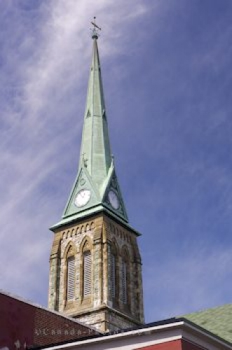 Photo: Trinity Church Steeple Saint John New Brunswick
