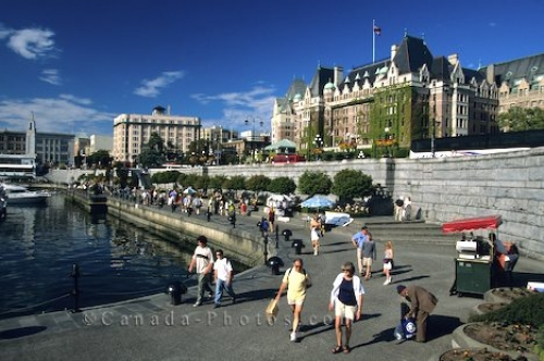 Photo: Victoria Harbour Vancouver Island