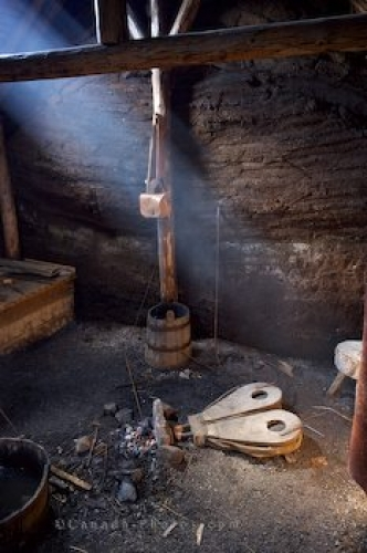 Photo: Viking Life Reconstructed Hut L Anse Aux Meadows