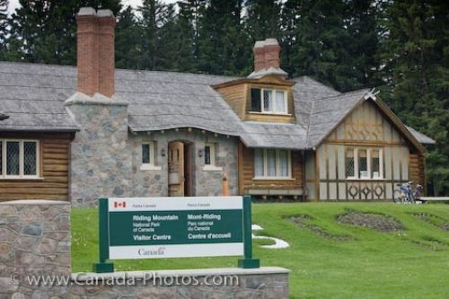 Photo: Visitor Information Centre Heritage Building Wasagaming Riding Mountain National Park