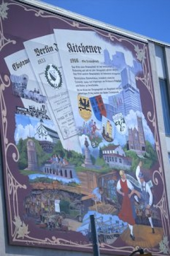 Photo: Wandmalerei Wall Mural Kitchener Ontario