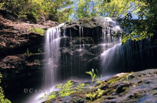 Photo: Waterfall Cape Breton Highlands National Park