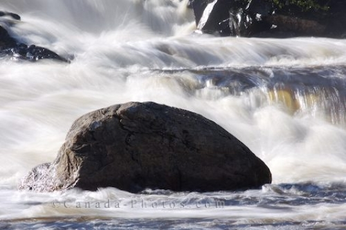 Photo: Waterfall Rocks White Bear River Falls