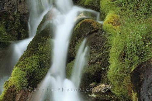 Photo: Waterfall Scenery Banff National Park