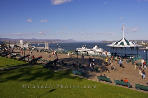 Photo: Waterfront Walk Quebec City Canada