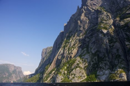 Photo: West Brook II Boat Tour Scenic Cliffs Western Brook Pond Newfoundland