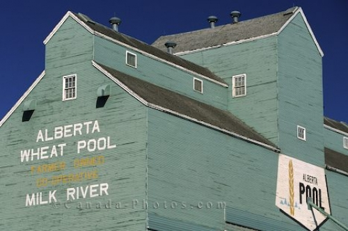Photo: Wheat Pool Silo Alberta