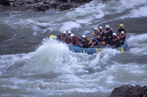 Photo: White Water Rafting Thompson River