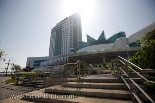 Photo: Windsor Casino Landscape Windsor City Ontario
