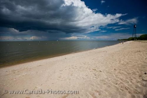Photo: Winnipeg Beach Storm Clouds Manitoba Canada