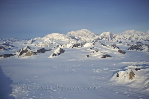 Photo: kluane Winter Scenery Yukon Territory