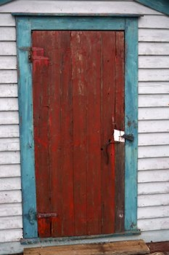 Photo: Wooden Door Fishing Stages
