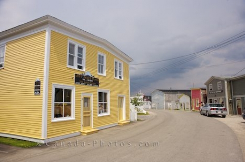 Photo: Woody Point Historic Buildings Gros Morne National Park Newfoundland