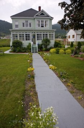 Photo: Woody Point Historic Home Newfoundland Canada