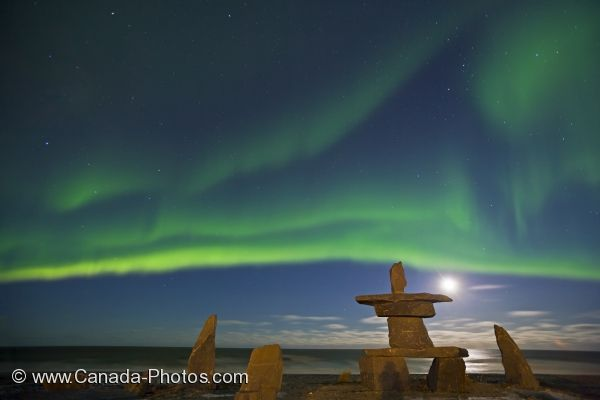 Photo: Aurora Borealis Light Show Churchill Manitoba