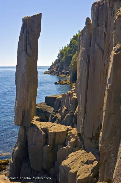 Photo: Balancing Rock Long Island Nova Scotia