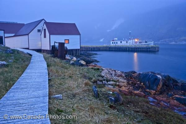 Photo: Battle Harbour Boardwalk Southern Labrador