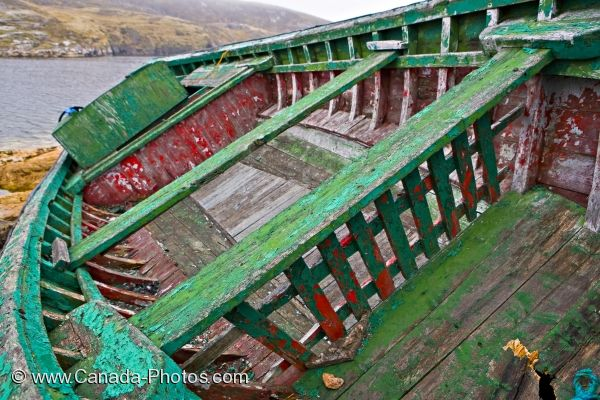 Photo: Battle Harbour Fishing Boat Southern Labrador