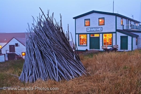 Photo: Battle Harbour General Store Southern Labrador