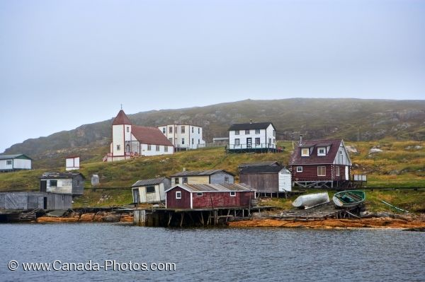 Photo: Battle Harbour Village Southern Labrador