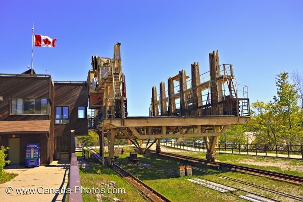 Photo: Big Chute Marine Railway Trent Severn Waterway Ontario
