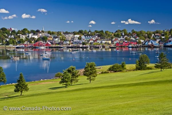 Photo: Bluenose Golf Course Scenery Lunenburg Nova Scotia