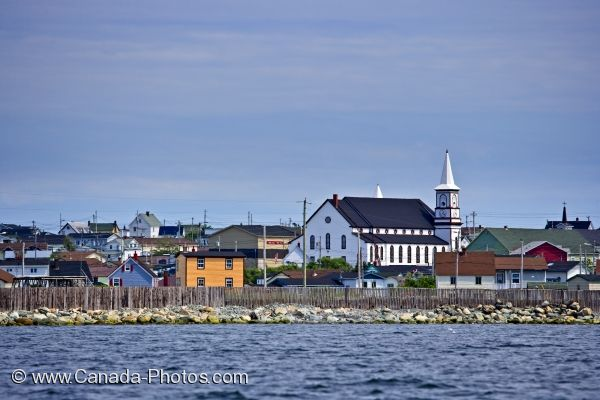 Photo: Bonavista Town Buildings Newfoundland Canada